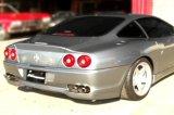 [Ferrari 550 Exhaust Muffler] Cat-Back F1 Sound Valvetronic Exhaust System