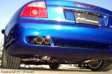 [Maserati Coupe/Spyder Exhaust Muffler] Cat-back F1 Sound Valvetronic Exhaust System