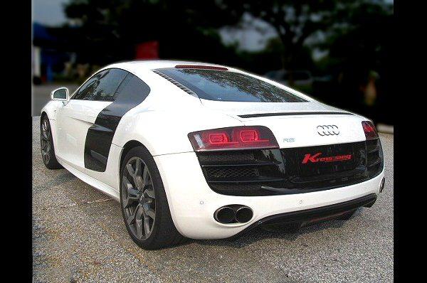 Photo1: [Audi R8 Exhaust Muffler] Cat-back F1 Sound Valvetronic Exhaust System