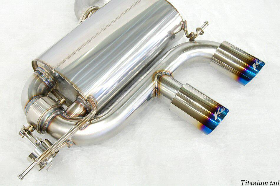 Photo2: [VW Golf R32 Exhaust Muffler] Cat-back F1 sound Valvetronic Exhaust System
