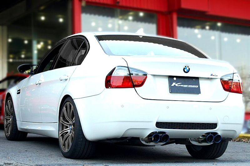 Photo1: [BMW E90 M3 Exhaust Muffler] First Cat-back F1 Sound Valvetronic Exhaust System