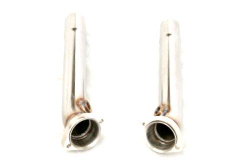 Photo2: [Ferrari 348 Exhaust Muffler] Stainless Bypass-pipe