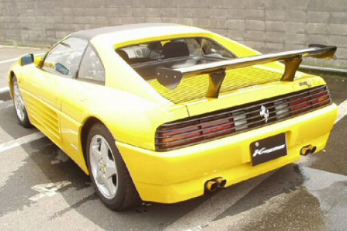 Photo1: [Ferrari 348 Exhaust Muffler] Cat-Back F1 Sound Valvetronic Exhaust System Ver.2