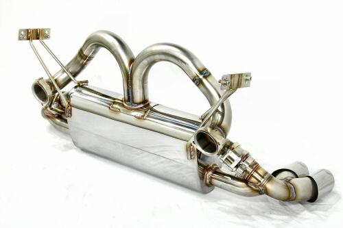 Photo2: [Ferrari 348 Exhaust Muffler] Cat-Back F1 Sound Exhaust System Wonder Wolf Ver.