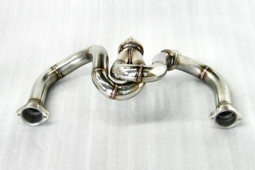 Photo2: [Ferrari F355 Exhaust Muffler] Stainless Spiral-style pipe (M5.2)
