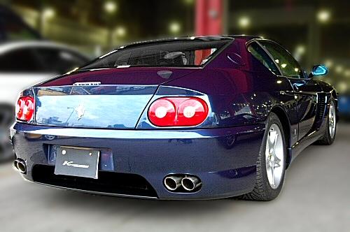 Photo1: [Ferrari 456 Exhaust Muffler] Cat-Back F1 Sound Valvetronic Exhaust System