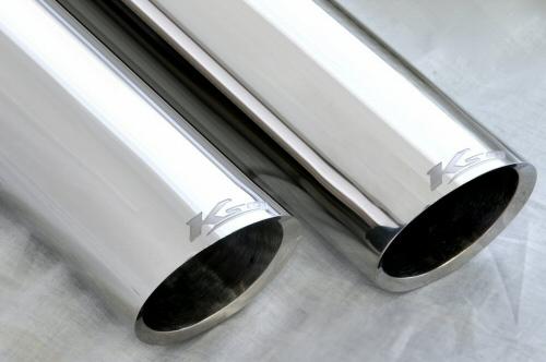 Photo4: [Ferrari Testarossa Exhaust Muffler] Cat-Back F1 Sound Exhaust System Wonder-Wolf Ver, [Stainless tail]
