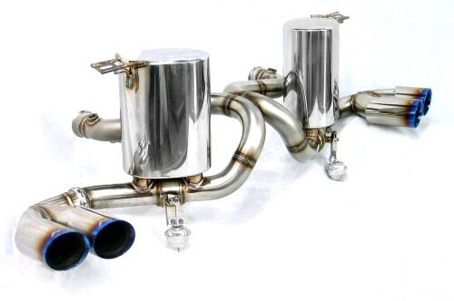 Photo1: [Lamborghini Gallardo Exhaust Muffler] Cat-Back F1 sound Valvetronic Exhaust System