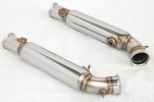 Photo1: [Lamborghini Murcielago Exhaust Muffler] Stainless O2 canceler pipe