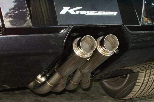 Photo1: [Lamborghini Murcielago Exhaust Muffler] Cat-Back F1 Sound Valvetronic Exhaust System