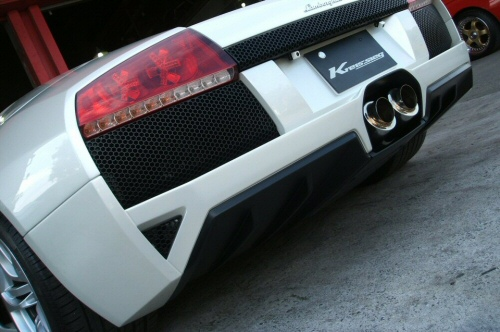 Photo1: [Lamborghini Murcielago Exhaust Muffler] Headers-Back F1 Sound Valvetronic Exhaust System
