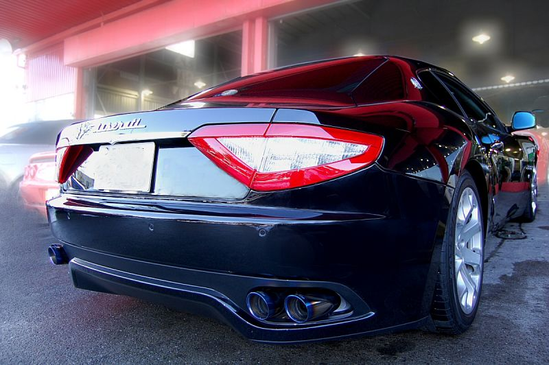 Photo1: [Maserati Gran Turismo Exhaust Muffler] Cat-back F1 Sound Valvetronic Exhaust System
