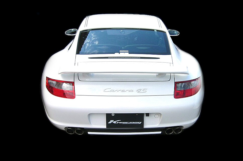 Photo1: [Porsche 997 Carrera Exhaust Muffler] Cat-back F1 Sound Valvetronic Exhaust System