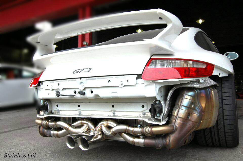 Kreissieg Porsche 997 Gt3 Cat Back F1 Sound Exhaust System