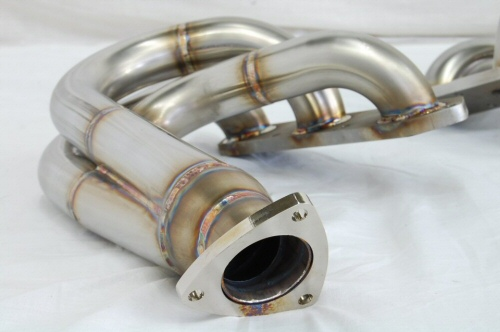 Photo3: [Porsche 987 Boxter Exhaust Muffler]  O2 Canceler Headers(for Offroad)
