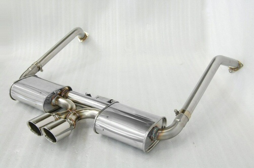 Photo1: [Porsche 987 Boxter Exhaust Muffler] First Cat-back F1 Sound Exhaust System Wonder Wolf Ver.