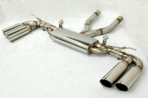 Photo1: [Porsche 955 Cayenne Exhaust Muffler] Cat-back F1 Sound Valvetronic Exhaust System