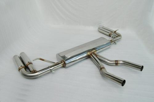 Photo2: [Porsche 955 Cayenne Exhaust Muffler]  F1 Sound Exhaust System Wonder Wolf Vr,