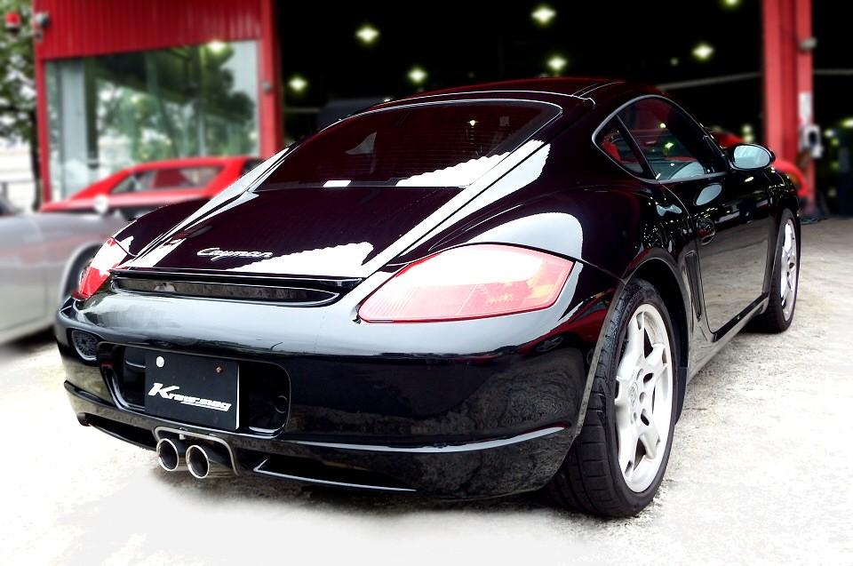 Kreissieg Porsche 987 Cayman First Cat Back F1 Sound