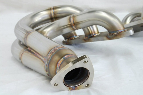 Photo3: [Porsche 987 Cayman Exhaust Muffler] Stainless O2 Canceler Headers