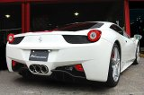 [Ferrari 458 Exhaust Muffler] Cat-Back F1 Sound Valvetronic Exhaust System