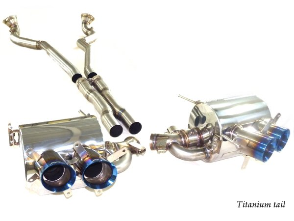 Photo2: [Ferrari F12 Exhaust Muffler] F1 Sound Valvetronic Exhaust System