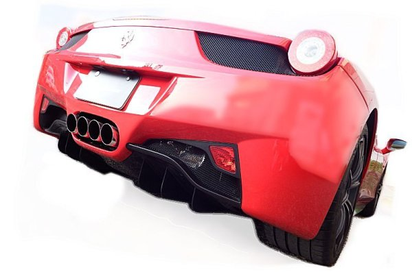 Photo1: [Ferrari 458 Exhaust Muffler] F1 Sound Valvetronic Exhaust System Super Howling Ver.