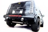 [H2 HUMMER 6.0 Exhaust Muffler] First Cat-back F1 Sound Valvetronic Exhaust System