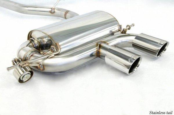 Photo1: [VW Golf R32 Exhaust Muffler] Cat-back F1 sound Valvetronic Exhaust System
