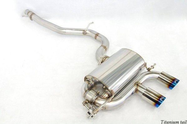 Photo4: [VW Golf R32 Exhaust Muffler] Cat-back F1 sound Valvetronic Exhaust System