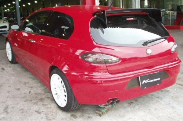 Photo1: [Alfa Romeo 147 Exhaust Muffler] Cat-back F1 Sound Valvetronic Exhaust System