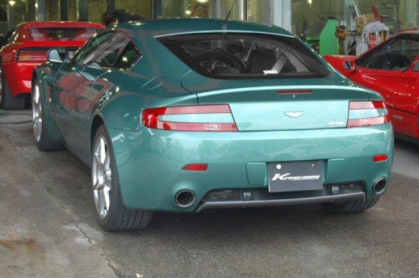 Photo1: [Aston Martin Vantage Exhaust Muffler] First Cat-back F1 Sound Valvetronic Exhaust System