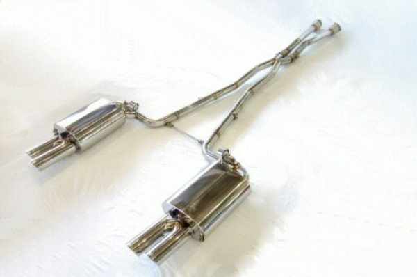 Photo2: [Audi S8 Exhaust Muffler] Cat-back F1 Sound Valvetronic Exhaust System