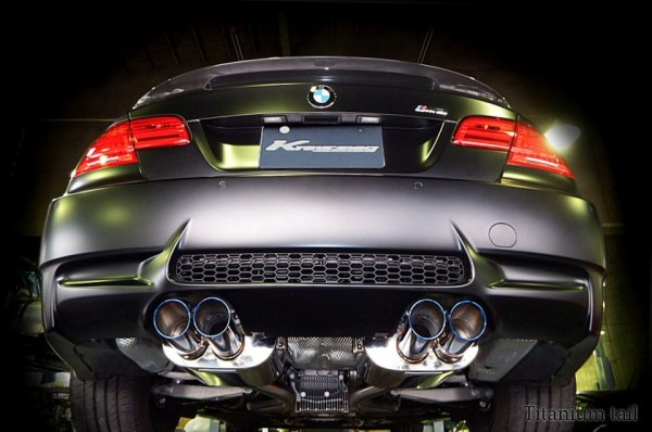Photo1: [BMW E92 M3 Exhaust Muffler] First Cat-back F1 Sound Valvetronic Exhaust System