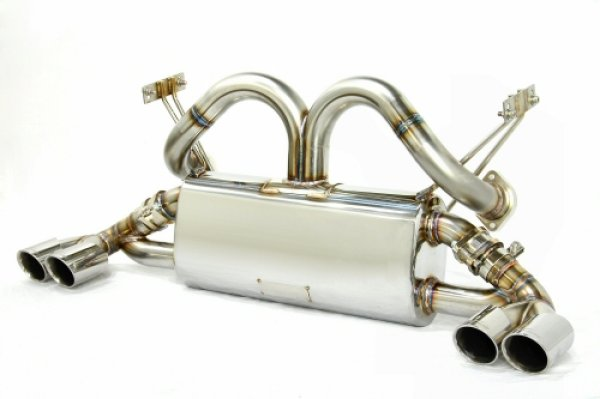 Photo1: [Ferrari 348 Exhaust Muffler] Cat-Back F1 Sound Exhaust System Wonder Wolf Ver.