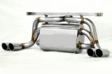 [Ferrari F355 Exhaust Muffler] Cat-Back F1 Sound Valvetronic Exhaust System Super Howling Ver.