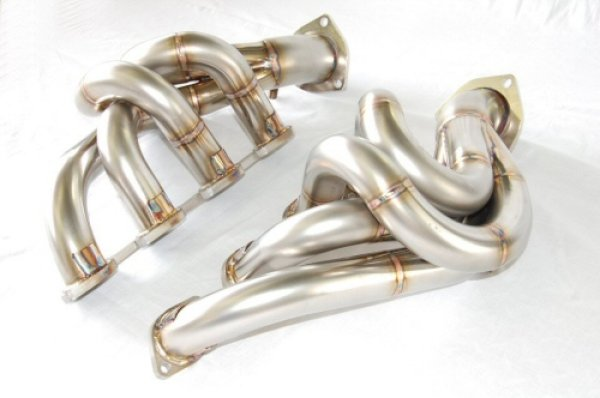 Photo1: [Ferrari F430 Exhaust Muffler] Stainless Headers