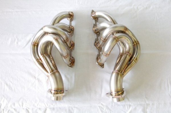 Photo4: [Ferrari F430 Exhaust Muffler] Stainless Headers