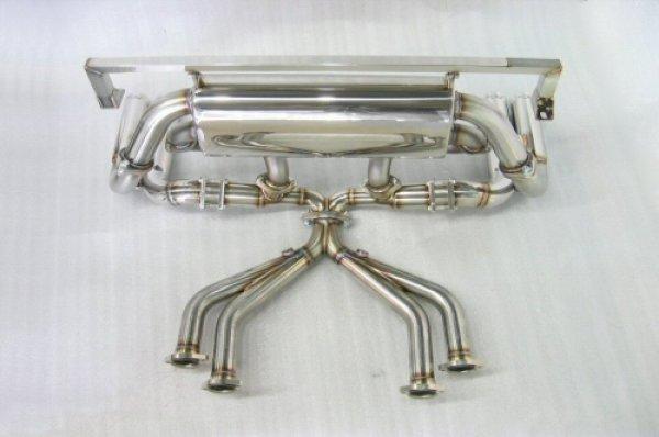 Photo3: [Ferrari Testarossa Exhaust Muffler] Cat-Back F1 Sound Exhaust System Wonder-Wolf Ver, [Stainless tail]