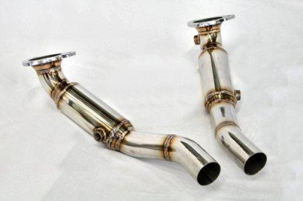 Photo2: [Ferrari California Exhaust Muffler] Stainless O2 Canceller Pipe