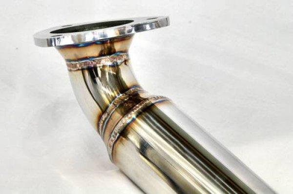 Photo3: [Ferrari California Exhaust Muffler] Stainless O2 Canceller Pipe