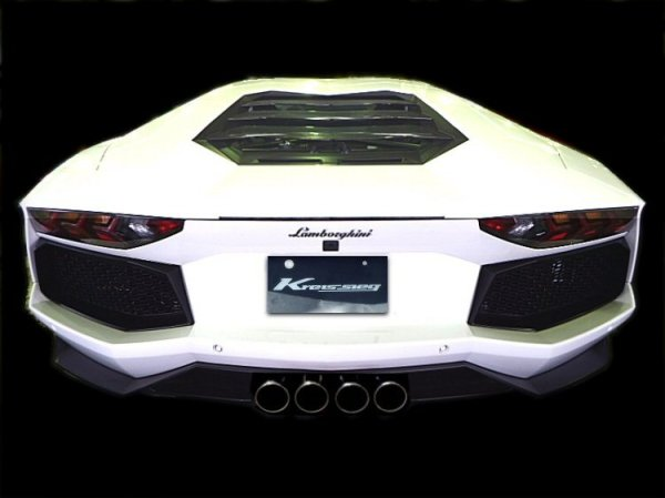 Photo2: [Lamborghini Aventador LP700-4 Exhaust Muffler] F1 Sound Valvetronic Exhaust System Super Howling Ver. Full-kit