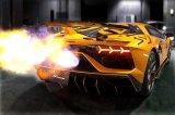 [Lamborghini Aventador SVJ Exhaust Muffler] F1 Sound Valvetronic Exhaust System Super Howling Ver. Full-kit