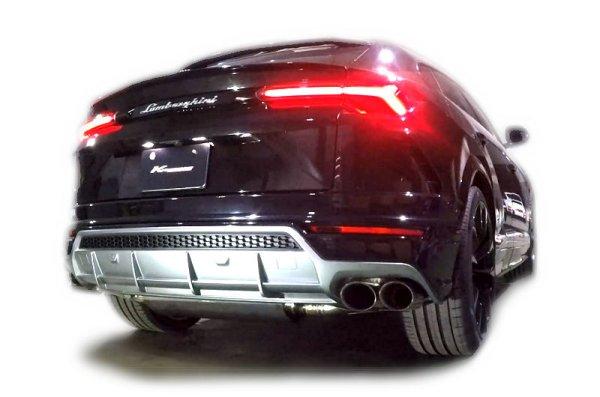 Photo1: [Lamborghini URUS Exhaust Muffler] F1 Sound Valvetronic Exhaust System Full-Kit