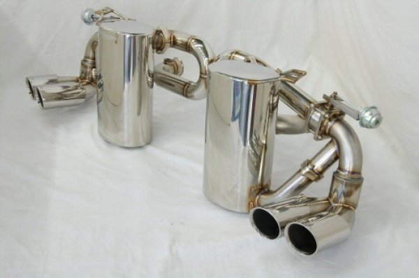 Photo2: [Lamborghini Gallardo Exhaust Muffler] Cat-Back F1 sound Valvetronic Exhaust System