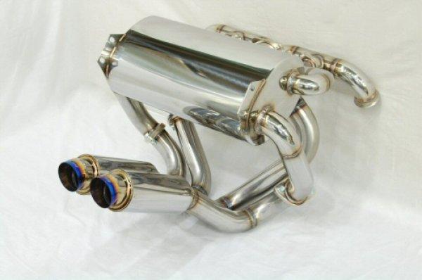 Photo2: [Lamborghini Murcielago Exhaust Muffler] Cat-Back F1 Sound Valvetronic Exhaust System