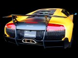 [Lamborghini Murcielago Exhaust Muffler] Headers-Back F1 Sound Valvetronic Exhaust System [Stainless box tail]