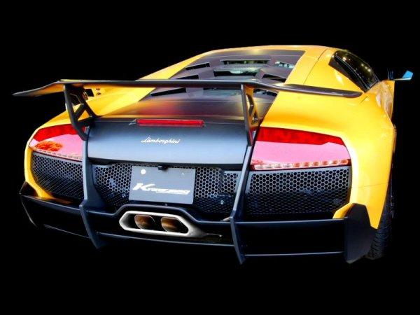 Photo1: [Lamborghini Murcielago Exhaust Muffler] Headers-Back F1 Sound Valvetronic Exhaust System [Stainless box tail]