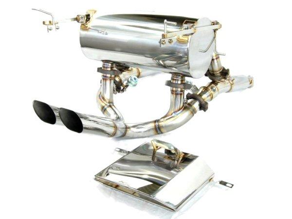 Photo2: [Lamborghini Murcielago Exhaust Muffler] Headers-Back F1 Sound Valvetronic Exhaust System [Stainless box tail]