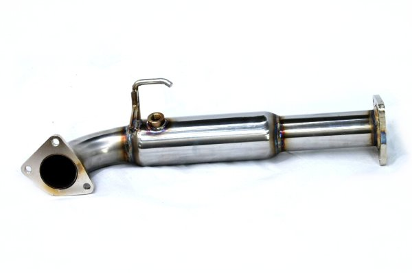 Photo2: {Lotus Elise Rover 18k Exhaust Muffler] Staainless O2 Cannceller Pipe